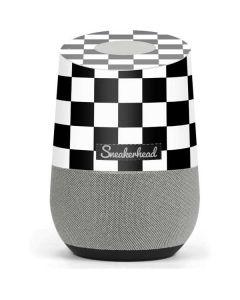 Sneakerhead Checkered Google Home Skin