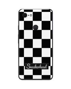 Sneakerhead Checkered Google Pixel 3 XL Skin