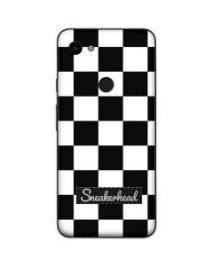 Sneakerhead Checkered Google Pixel 3a Skin