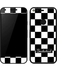 Sneakerhead Checkered Google Pixel Skin