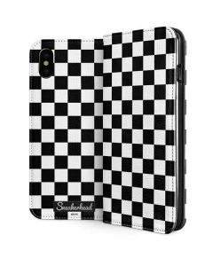 Sneakerhead Checkered iPhone XS Max Folio Case