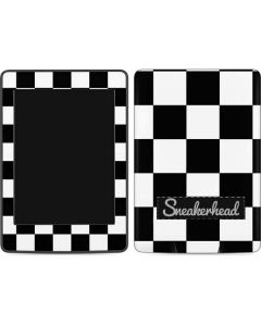 Sneakerhead Checkered Amazon Kindle Skin