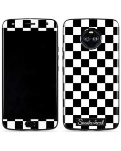 Sneakerhead Checkered Moto X4 Skin