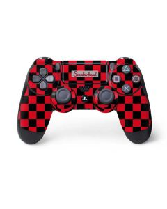 Sneakerhead Red Checkered PS4 Pro/Slim Controller Skin