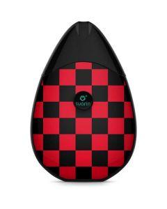 Sneakerhead Red Checkered Suorin Drop Vape Skin