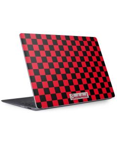 Sneakerhead Red Checkered Surface Laptop 2 Skin