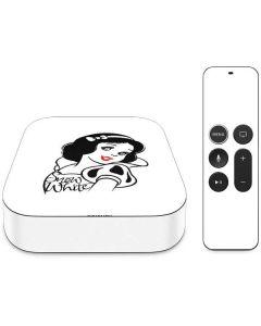 Snow White Black and White Apple TV Skin