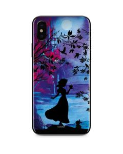 Snow White Enchanted Forest iPhone X Skin