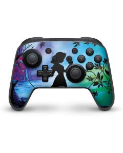Snow White Enchanted Forest Nintendo Switch Pro Controller Skin