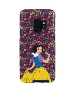Snow White Floral Galaxy S9 Pro Case