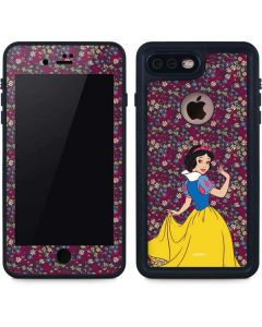 Snow White Floral iPhone 8 Plus Waterproof Case
