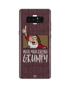 Snow White Grumpy Galaxy Note 8 Skin