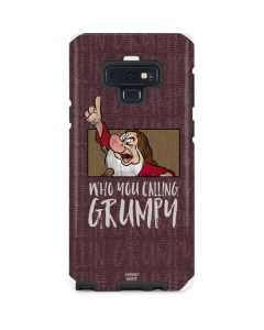 Snow White Grumpy Galaxy Note 9 Pro Case