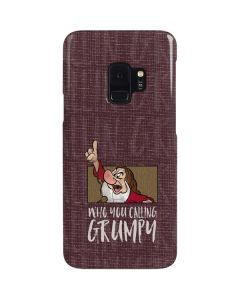 Snow White Grumpy Galaxy S9 Lite Case