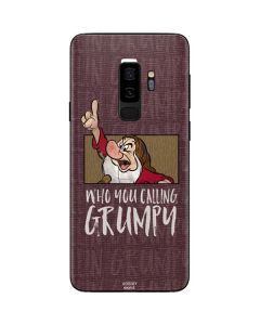 Snow White Grumpy Galaxy S9 Plus Skin