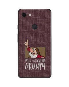Snow White Grumpy Google Pixel 3 XL Skin