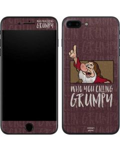 Snow White Grumpy iPhone 8 Plus Skin