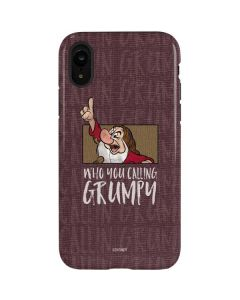 Snow White Grumpy iPhone XR Pro Case