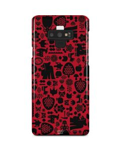 Snow White Icon Pattern Galaxy Note 9 Lite Case