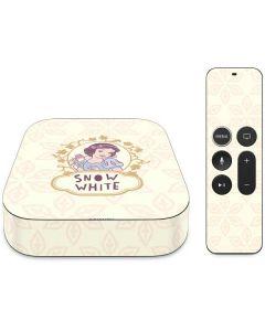 Snow White Mirror Apple TV Skin