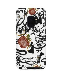 Snow White Roses Galaxy S9 Pro Case