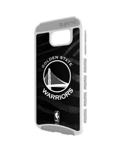 Golden State Warriors Black Animal Print Galaxy S6 Cargo Case