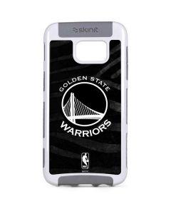Golden State Warriors Black Animal Print Galaxy S7 Edge Cargo Case
