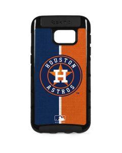 Houston Astros Split Galaxy S7 Edge Cargo Case