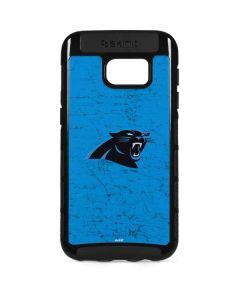 Carolina Panthers Distressed Alternate Galaxy S7 Edge Cargo Case