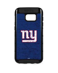 New York Giants Distressed Galaxy S7 Edge Cargo Case