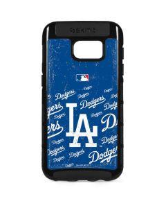 Los Angeles Dodgers - Cap Logo Blast Galaxy S7 Edge Cargo Case