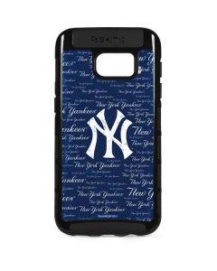 New York Yankees - Cap Logo Blast Galaxy S7 Edge Cargo Case
