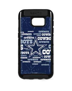 Dallas Cowboys Blast Galaxy S7 Edge Cargo Case