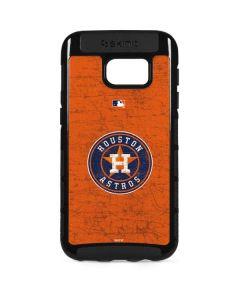 Houston Astros Distressed Galaxy S7 Edge Cargo Case