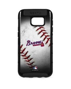 Atlanta Braves Game Ball Galaxy S7 Edge Cargo Case