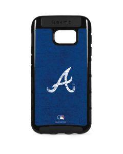 Atlanta Braves - Solid Distressed Galaxy S7 Edge Cargo Case