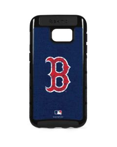 Boston Red Sox - Solid Distressed Galaxy S7 Edge Cargo Case
