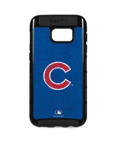 Chicago Cubs - Solid Distressed Galaxy S7 Edge Cargo Case