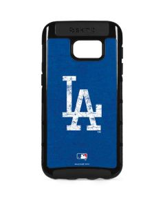 Los Angeles Dodgers - Solid Distressed Galaxy S7 Edge Cargo Case