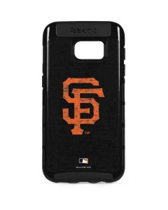 San Francisco Giants - Solid Distressed Galaxy S7 Edge Cargo Case