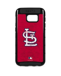 St. Louis Cardinals - Solid Distressed Galaxy S7 Edge Cargo Case
