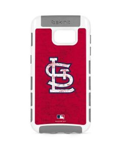 St. Louis Cardinals - Solid Distressed Galaxy S7 Cargo Case