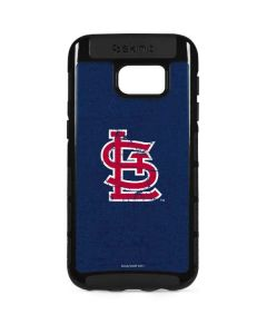 St. Louis Cardinals- Alternate Solid Distressed Galaxy S7 Edge Cargo Case