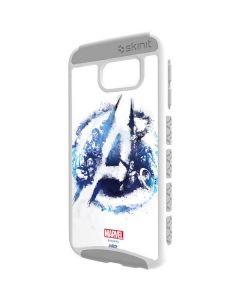 Avengers Blue Logo Galaxy S6 Cargo Case