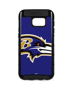 Baltimore Ravens Large Logo Galaxy S7 Edge Cargo Case