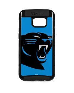 Carolina Panthers Large Logo Galaxy S7 Edge Cargo Case