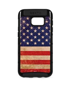 Distressed American Flag Galaxy S7 Edge Cargo Case