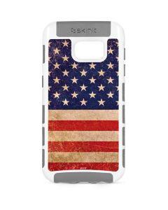 Distressed American Flag Galaxy S7 Cargo Case