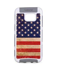 Distressed American Flag Galaxy S7 Edge Cargo Case