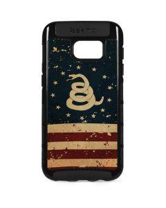 Dont Tread On Me American Flag Galaxy S7 Edge Cargo Case